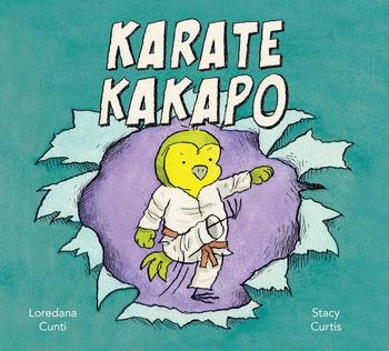 Book Cover: Karate Kakapo