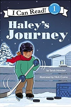 Book Cover: I Can Read Hockey Stories: Hayley's Journey
