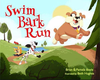 Book Cover: Swim Bark Run