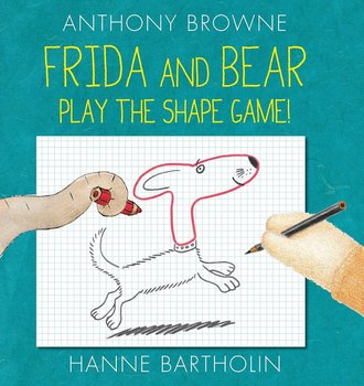 Book Cover: Frida and Bear Play the Shape Game